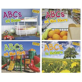 Abcs Alphabet Books Set Of All 4 By Coughlan Publishing Capstone Publishing