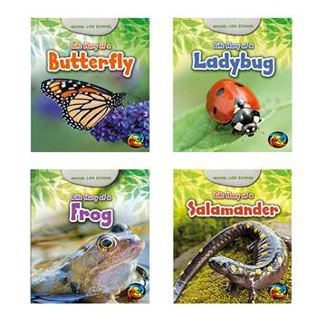 Animal Life Stories Set Of 4 Books, HE-9781484604960