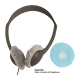 Hygenx Disposable Headphone Covers On-Ear Blue, HECHYGENX25BL