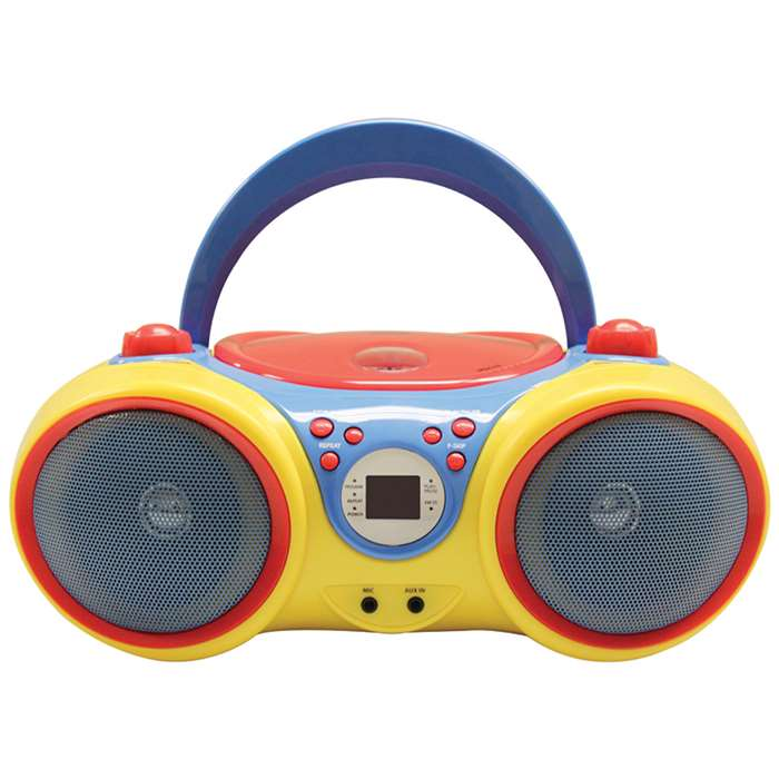 Kids Cd Player Karaoke Machine With Microphone, HECKIDSCD30