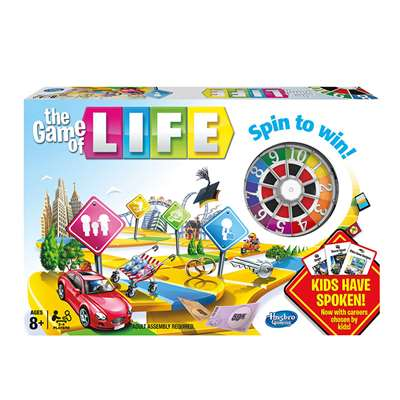 The Game Of Life By Hasbro Toy Group