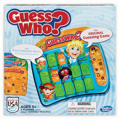 Guess Who By Hasbro Toy Group