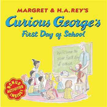 Curious George First Day Of School By Houghton Mifflin