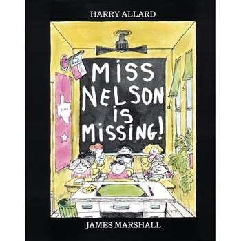 Miss Nelson Is Missing Book By Houghton Mifflin