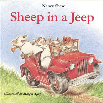 Sheep In A Jeep Classic Lit Book By Houghton Mifflin