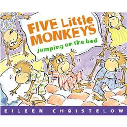 Five Little Monkeys Jumping By Houghton Mifflin