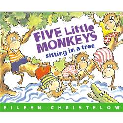 5 Little Monkeys Sitting In A Tree By Houghton Mifflin