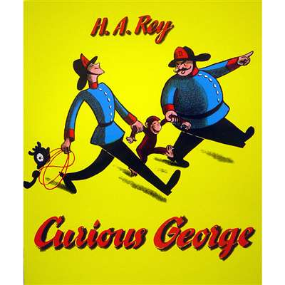 Curious George Big Book By Houghton Mifflin