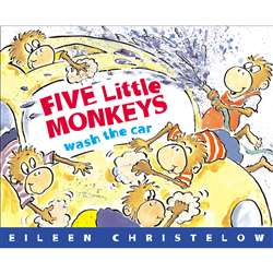 Five Little Monkeys Wash The Car By Houghton Mifflin