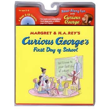 Curious Georges First Day Of School Book & Cd By Houghton Mifflin