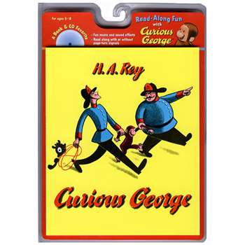 Carry Along Book & Cd Curious George By Houghton Mifflin