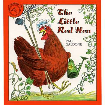 The Little Red Hen By Houghton Mifflin