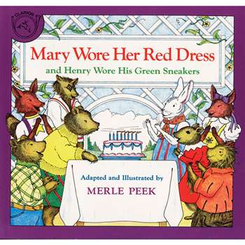 Mary Wore Her Red Dress Book By Houghton Mifflin