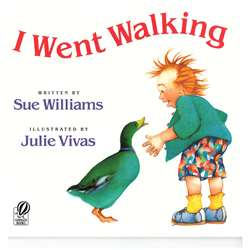 I Went Walking Paperback By Houghton Mifflin
