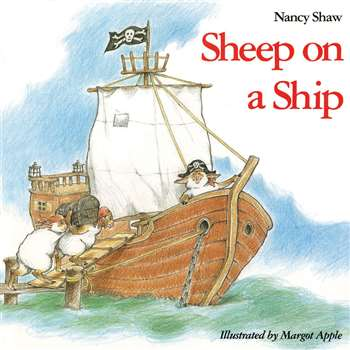 Sheep On A Ship By Houghton Mifflin