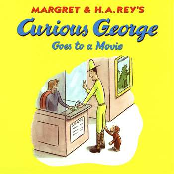 Curious George Goes To A Movie, HO-9780544313699