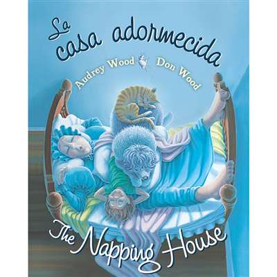 The Napping House La Casa Adormecid A Board Book By Houghton Mifflin