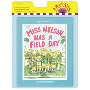 Carry Along Book & Cd Miss Nelson Has A Field Day By Houghton Mifflin