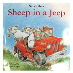 Sheep In A Jeep Big Book By Houghton Mifflin