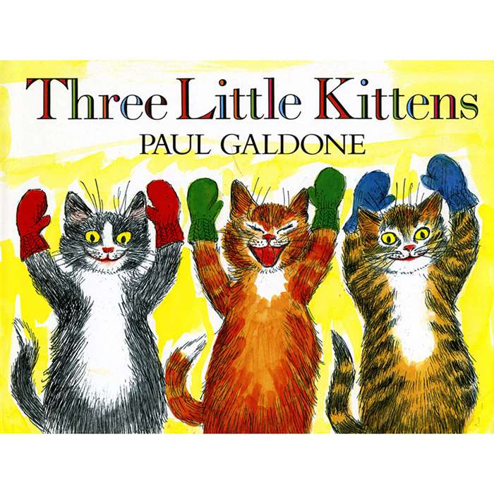 The Three Little Kittens Big Book By Houghton Mifflin