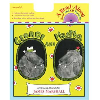 George & Martha Carry Along Book/Cd By Houghton Mifflin