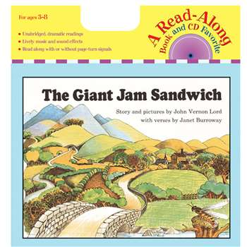Carry Along Book/Cd The Giant Jam Sandwich By Houghton Mifflin