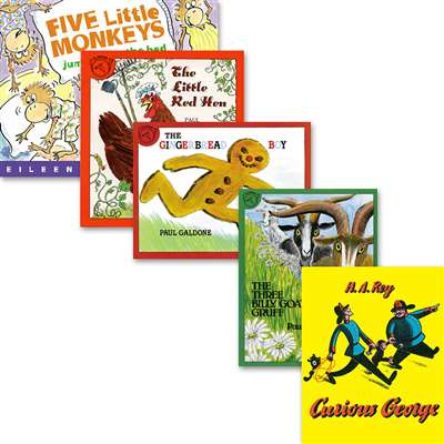 Big Book Set Set Of All 5 Books By Houghton Mifflin