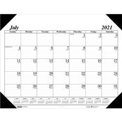 Academic Economy Desk Pad 14-Month Jul-Aug By House Of Doolittle