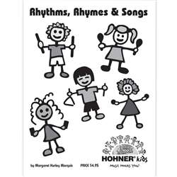 Rhymes Songs & Activities Instruction Book/Rhymes & Songs By Hohner