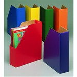 Magazine Files One Each Green Blue Orange Purple Red And Yellow By Edupress