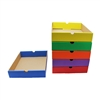 Drawers Assorted Colors Set Of 6 Storage Shelve Not Included By Edupress