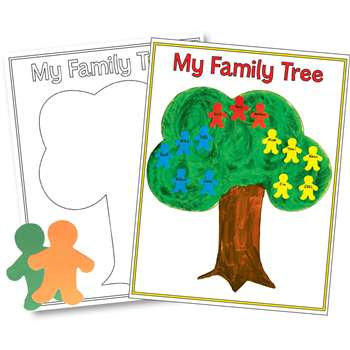 Family Tree Poster By Hygloss Products