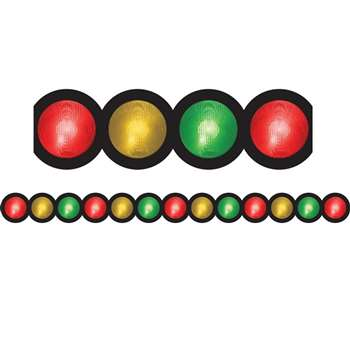 Stop Light Die Cut Classroom Border 12Pk By Hygloss Products
