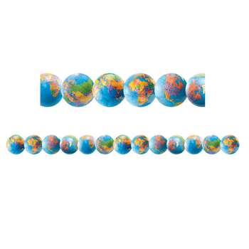 Globe Bright Border By Hygloss Products