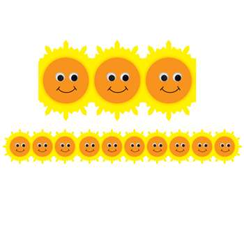 Happy Sun Die Cut Border By Hygloss Products