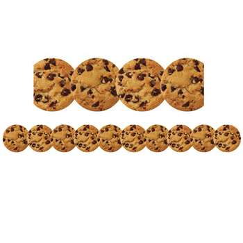Chocolate Chip Cookie Die Cut Border By Hygloss Products