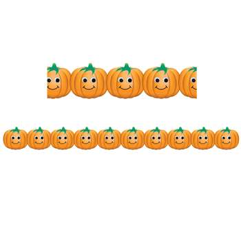 Shop Happy Pumpkins Border By Hygloss Products