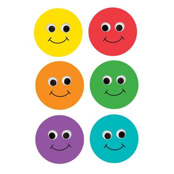 6In Smiley Face Classroom Accents 30Pk By Hygloss Products