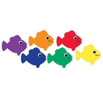 Die Cut Accents Multicolor Fish, HYG33730