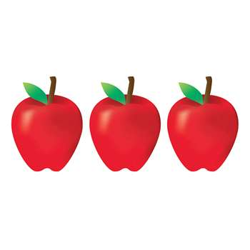 "7"" Red Apples Accents, HYG33748"