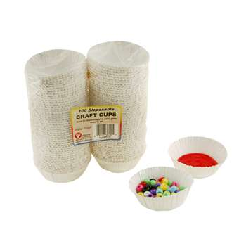 Craft Cups 100 Cups By Hygloss Products