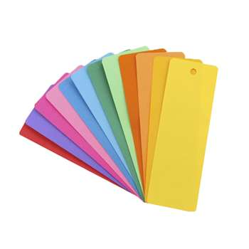 Bookmarks 2 X 6 Asstd Colors 500 By Hygloss Products