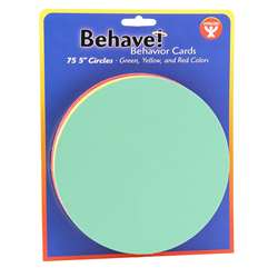 Behavior Cards 5 Circle Cards 75, HYG45055