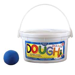 Dazzlin Dough Blue 3 Lb Tub By Hygloss Products