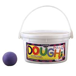 Dazzlin Dough Purple 3 Lb Tub By Hygloss Products