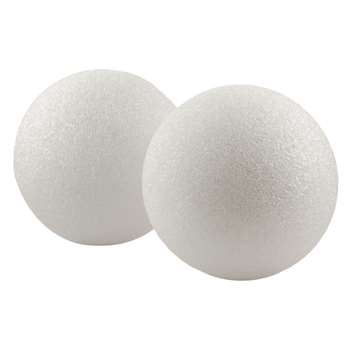 Styrofoam 6In Balls Pack Of 6 By Hygloss Products