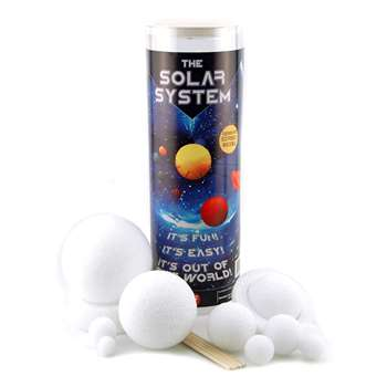 Styrofoam Science Kits Solar Syst By Hygloss Products