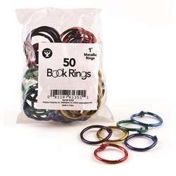 Book Rings 1 50 Per Pack By Hygloss Products