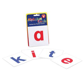 Alphabet Cards A-Z Lower Case Letters By Hygloss Products