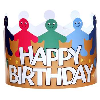 Happy Birthday Crowns Pack Of 24, HYG65255